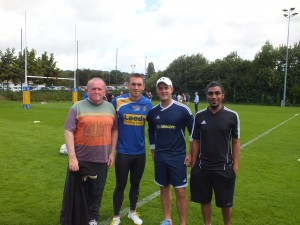 Training with the Rhinos