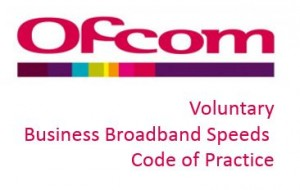 Ofcom Voluntary Speeds Code of Practice
